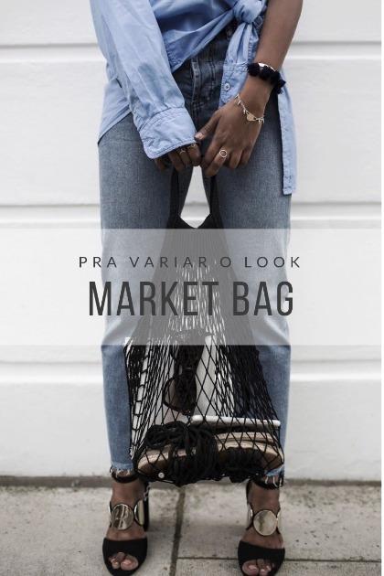Market bag: ótimo modelo para variar um pouco