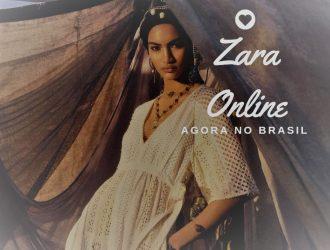 Zara lança loja online no Brasil